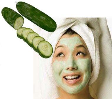 Manfaat mentimun bagi kulit