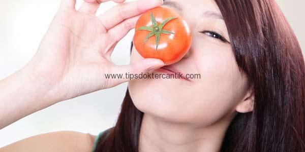 cara mempercantik kulit dan menyehatkan dengan tomat