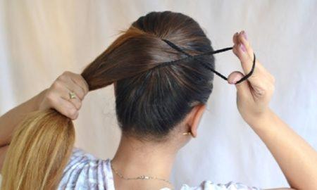 Cara Mengikat Rambut Yang Salah