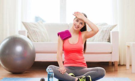 Latihan Olahraga Di Rumah