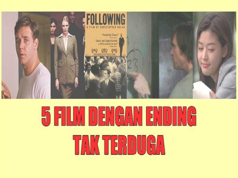 Daftar Film Dengan Ending Tak Terduga