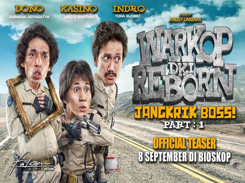 Fakta Menarik Tentang Film Warkop DKI Reborn