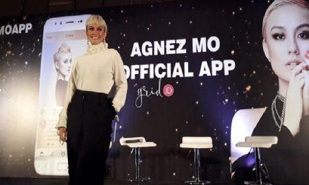 Agnez Mo Potong Rambut Karena Rilis Aplikasi Pribadi?