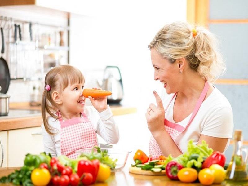 Manfaat Buah dan Sayur Untuk Anak