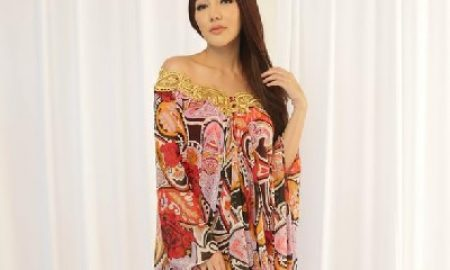 Desain Kaftan Ramadhan 2017 Bella Shofie Terinspirasi Ratu Balqis