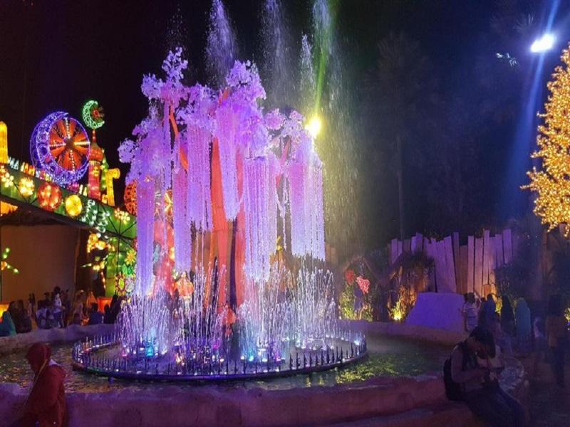 Mengenal Wisata Bru Malang Night Paradise, Rekreasi Keluarga Jelang Akhir Liburan