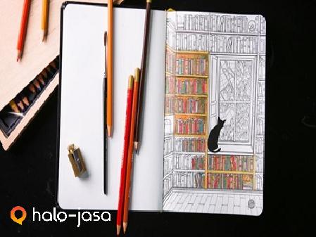 cara atasi stress dengan menggambar
