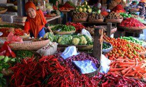 Artis Cantik Yang Belanja Di Pasar Tradisional
