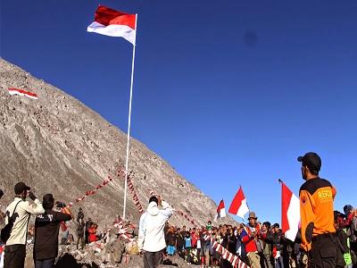Seru Sekali! Gunung Ini Sering Dijadikan Lokasi Upacara 17 Asustus