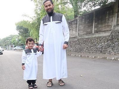 Busana Nyaman Dan Sopan Untuk Anak Saat Idul Adha Ala Selebriti Tanah Air