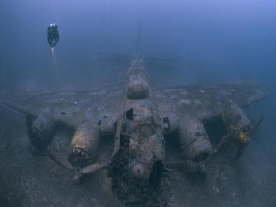 Merinding, Ini Potret Peninggalan Perang Dunia Ke II Di Dasar Laut
