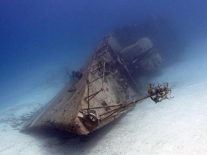Merinding, Ini Potret Peninggalan Perang Dunia Ke II Di Dasar Laut. Masih Berani Diving?