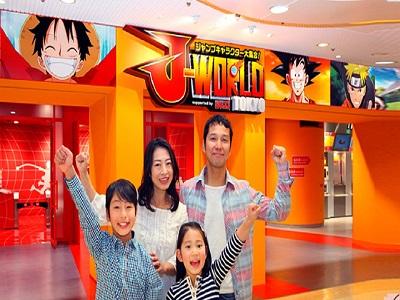 Keseruan Berkunjung Ke J-World Tokyo, Serasa Kayak Hidup Di Dunia Anime